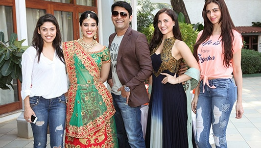 PROMOTING HIMSELF AND HIS MOVIES-Kapil