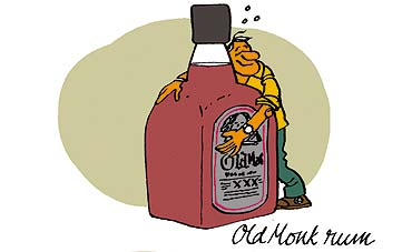 Old Monk,Source: http://www.outlookindia.com/images/old_monk_rum_20061016.jpg