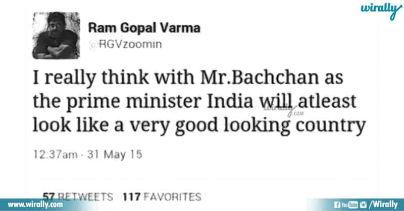 RGV Counter attack to Pakistan PM