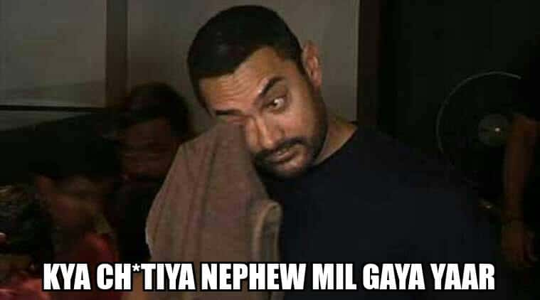 Aamir cry meme