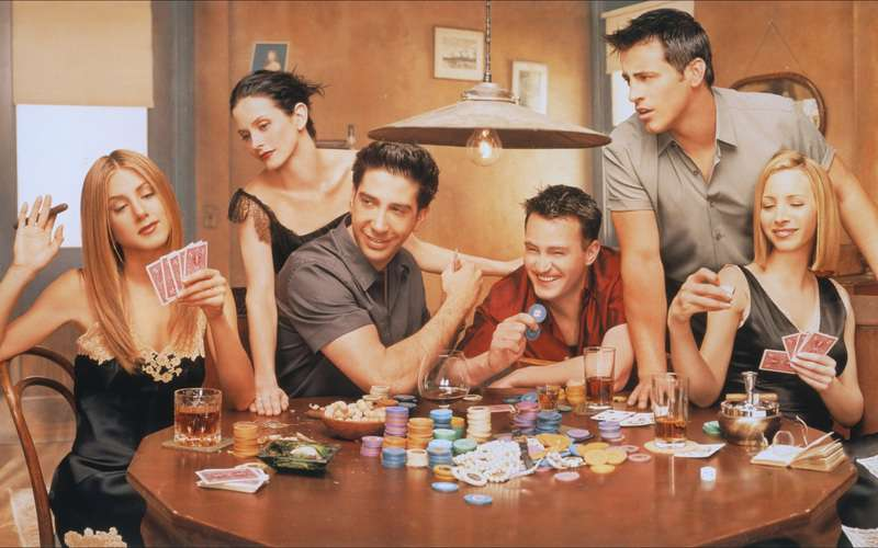 'Friends' would never be shot in India. Because boys and girls should not live together. #IndianSanskaar