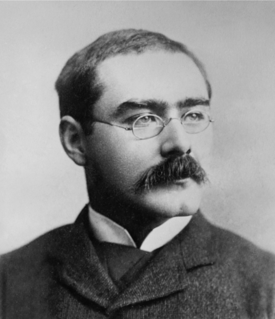Mr. Kipling also had a very impressive moustache, a fact that most historians outright ignore.