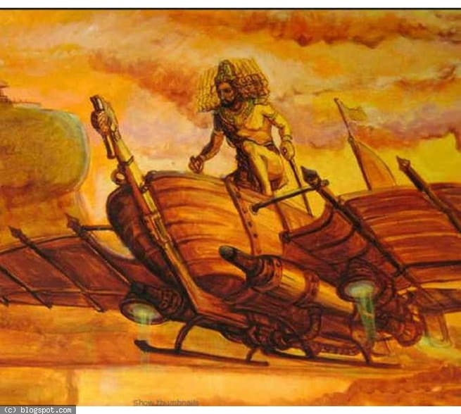 Before LoTR and GoT, there was Ravana's Pushpaka Vimana