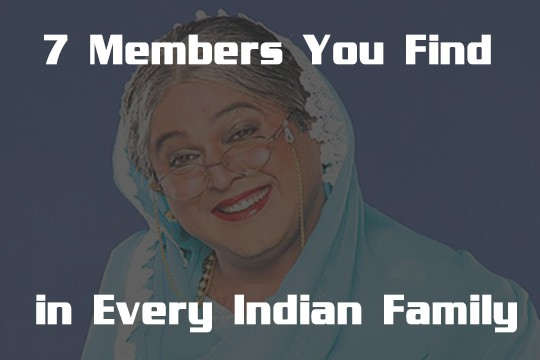 Members You Find in Every Indian Family