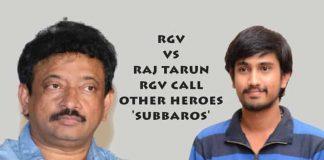 RGV,Raj Tarun