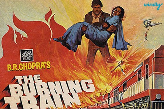 Burning-Train