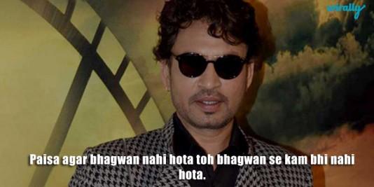 Irrfan Khan best dialogues