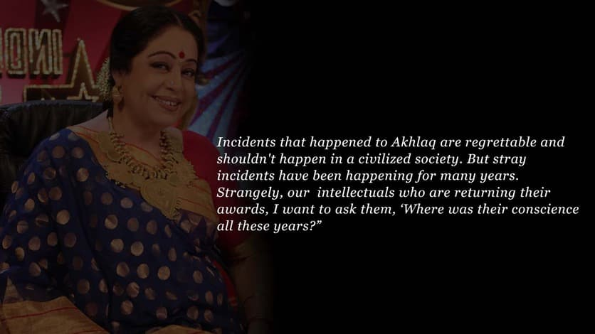 Kirron Kher speech