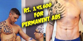 Permanent 6 pack abs