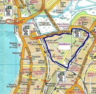2. Dharavi map