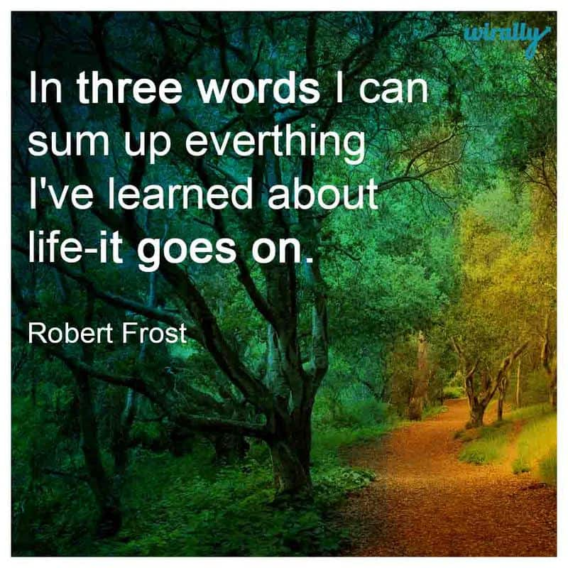 heartening quotes about life