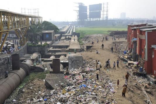 Dharavi aerial view