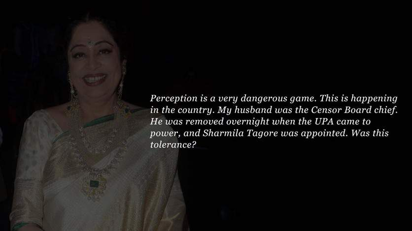 Kirron Kher Parliament speech