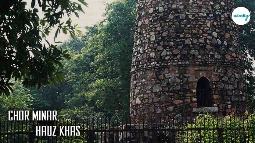 Chor Minar, Hauz Khas