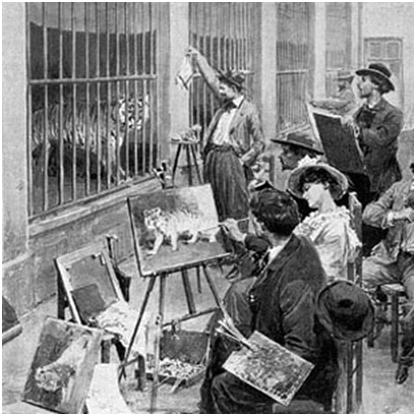 French Revolution,FIRST PUBLIC ZOO