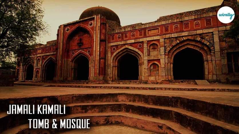 Jamali Kamali Tomb & Mosque