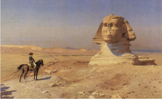 French Revolution,NAPOLEAN AND THE SPHINX