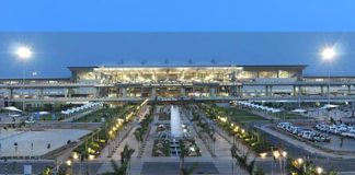 Hyderabad Internaitional Airport,RGIA,E-Boarding