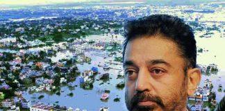 kamal hassan,chennai floods
