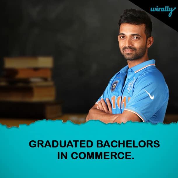 AJINKYA RAHANE-Indian Cricketers