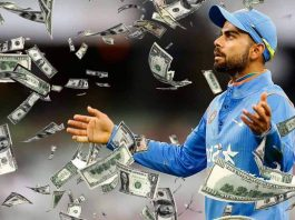 Virat Kohli 2016 IPL salary
