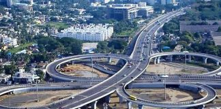 Hyderabad multi-level flyovers