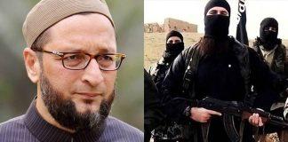 Owaisi ISIS threat