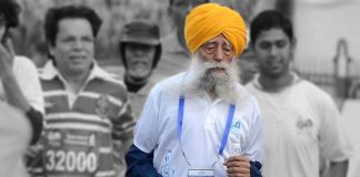 Fauji Singh,104 Year Old Man Runs Marathon