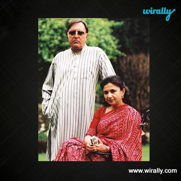 Nawab Mansoor Ali Khan Pataudi & Sharmila Tagore