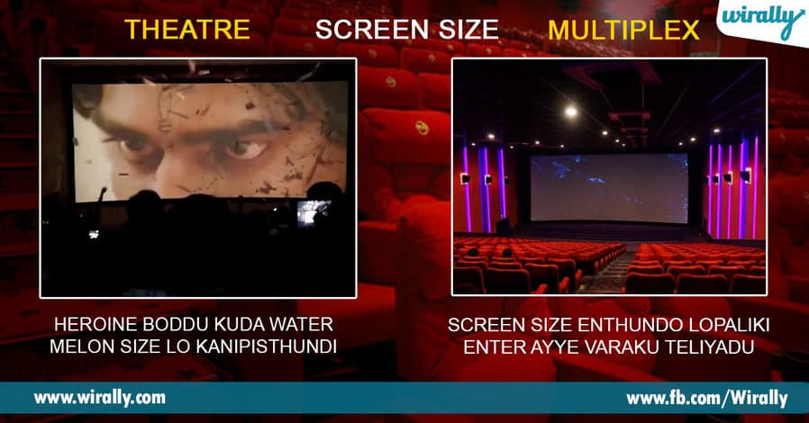 2 Difference Of Watching Cinema In A Theatre vs Multiplex