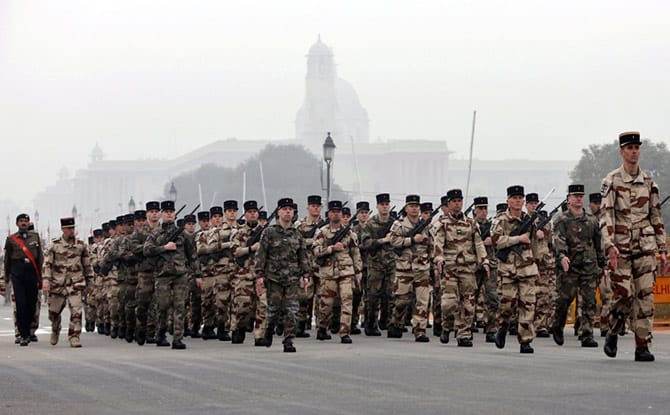 Foreign Army March