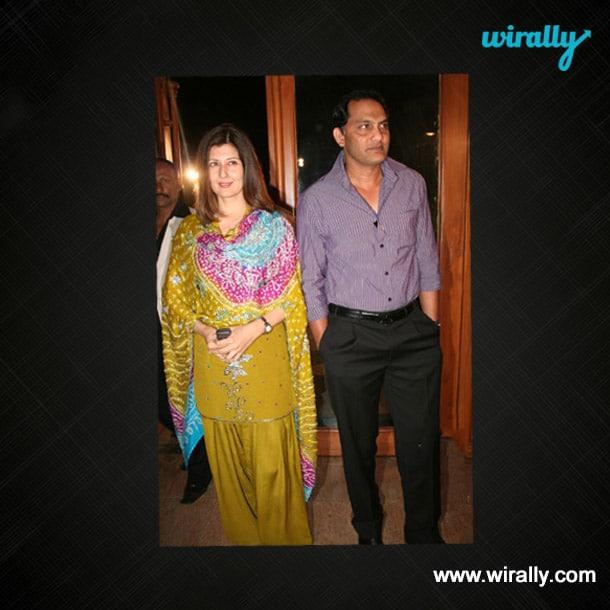 Mohammad Azharuddin & Sangeeta Bijlani