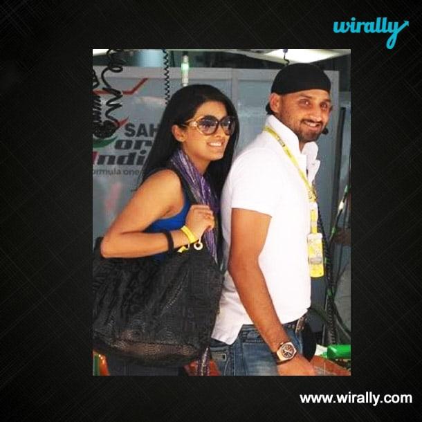 Harbhajan Singh & Geeta Basra