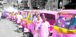 Pink Auto Drivers in mumbai