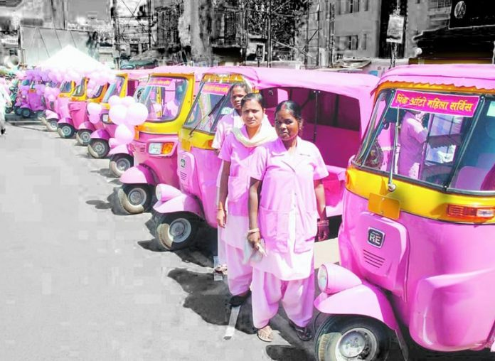 Pink Auto Drivers in mumbai