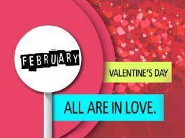 FEBRUARY, valentine's day
