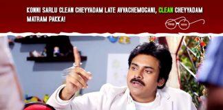 Telugu Actors Campaign For Swachh Bharat,,pawan kalyan