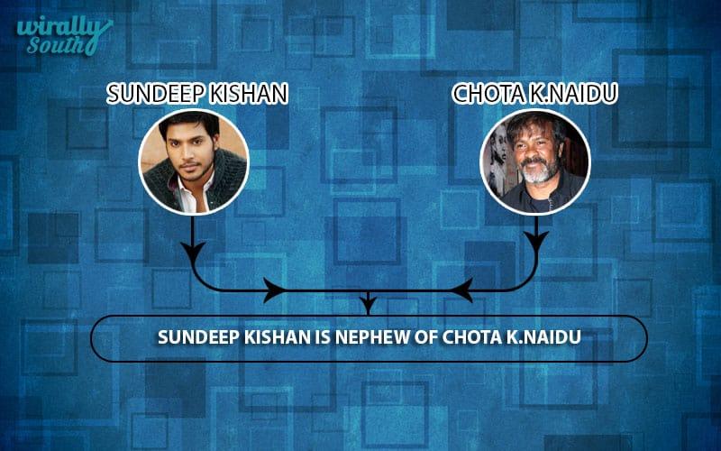 Sundeep Kishan,Chota k.Naidu