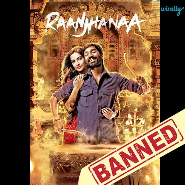 Raanjhanaa-Movies That Have been banned in Pakistan