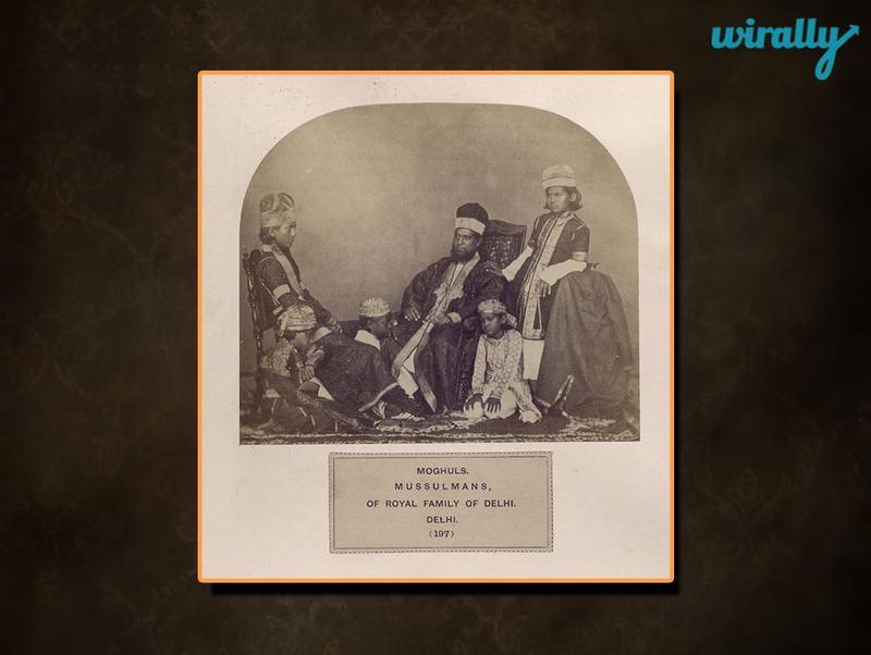 Moghuls, Mussulmans,of Royal family of Delhi, Delhi.