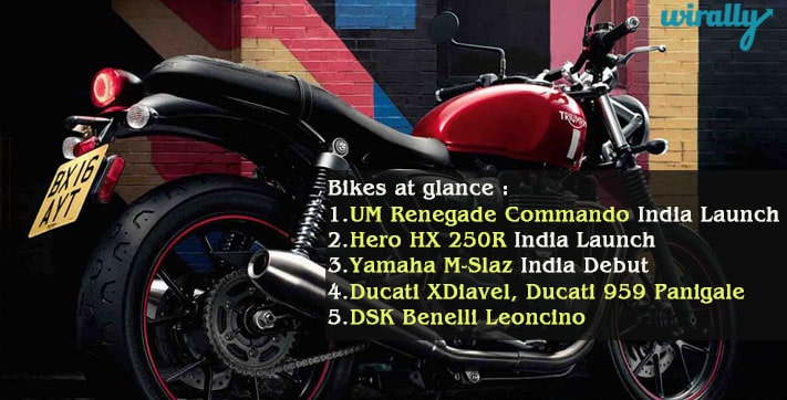 Bikes at Glance in Auto Expo 2016