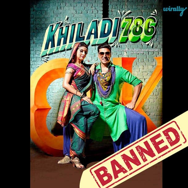 Khiladi 786-Movies That Have been banned in Pakistan