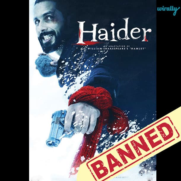 HAIDER-Movies That Have been banned in Pakistan