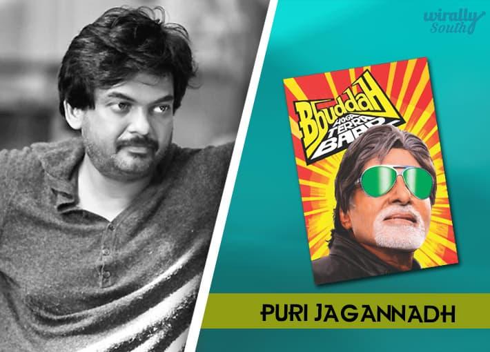 Puri Jaganadh : Appu (Kannada), Bbuddah Hoga Tera Baap -Telugu Directors