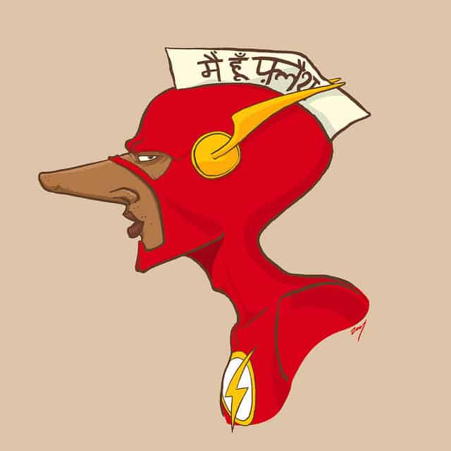 FLASH-Super Heroes