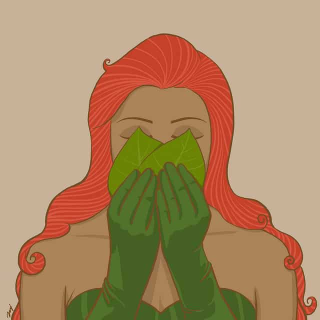 POISON IVY-Super Heroes