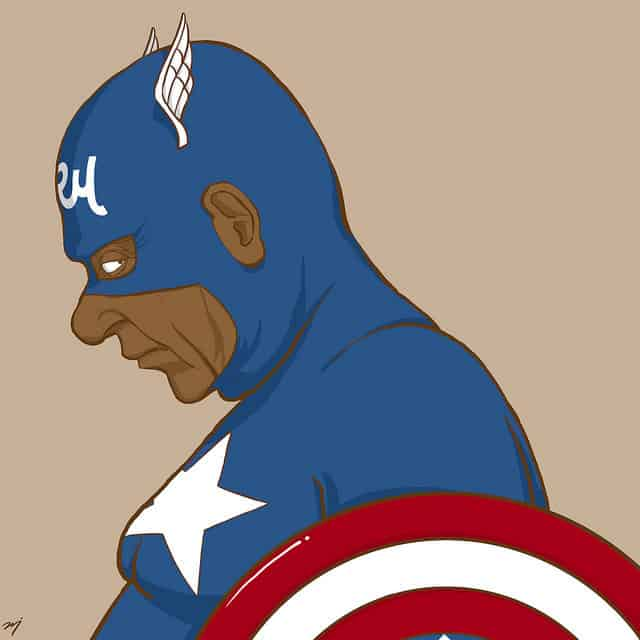 CAPTAIN AMERICA-Super Heroes