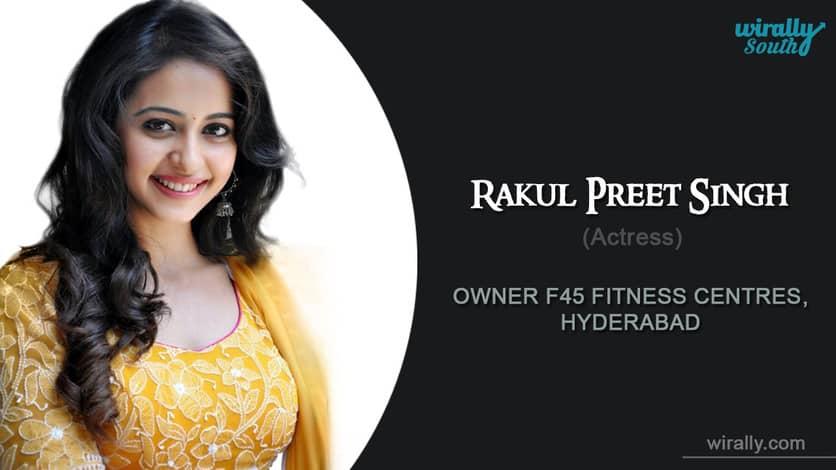 RAKUL PREET SINGH-Indian