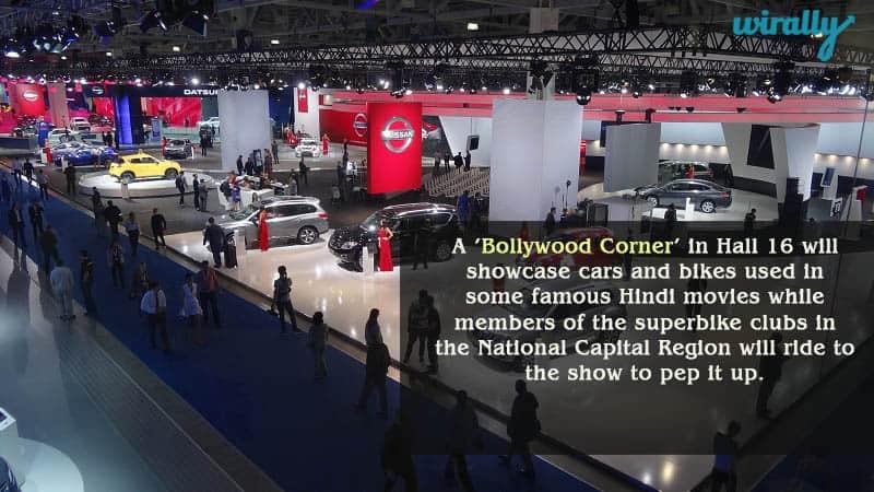 Bollywood Corner in Auto Expo 2016