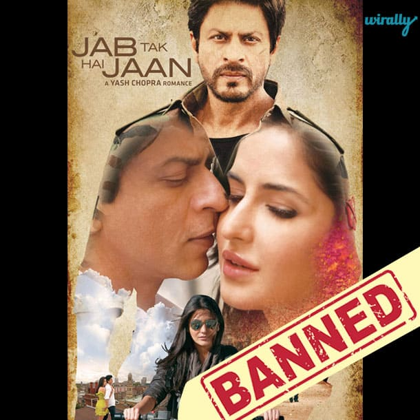 Jab Tak Hai Jaan-Movies That Have been banned in Pakistan
